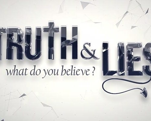 Truth & Lies presentation